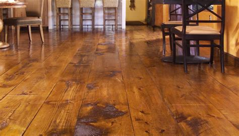 Distressed Pine Laminate Flooring - quot hit or miss eastern white pine quot rustic flooring and
