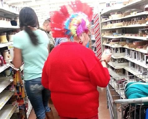 haircuts by walmart get your haircut at walmart red granny with rainbow