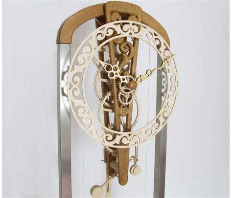 wooden gear clock plans  dxf easy diy woodworking