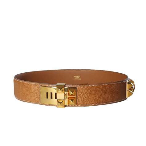 hermes togo leather belt 1995 for sale at 1stdibs