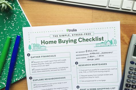buying home checklist trulia s home buying checklist trulia s real