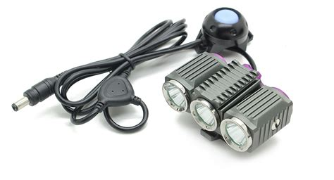 Trustfire Led Bicycle Light 3x Cree Xm L2 1200 Lumens Tr D012 trustfire tr d012 led light battery 3x cree xm l2 1200 lumen 4 modes 4x18650 8 4v