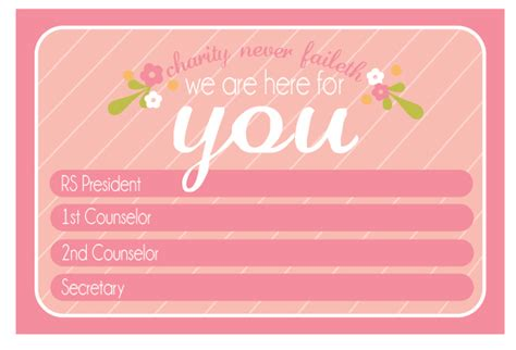 rs card template all things bright and beautiful presidency contact magnets