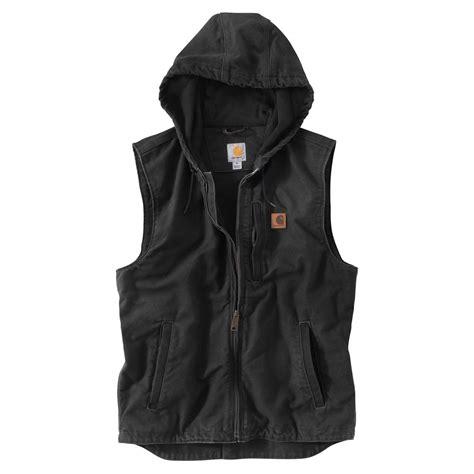working vest carhartt knoxville fleece lined work vest