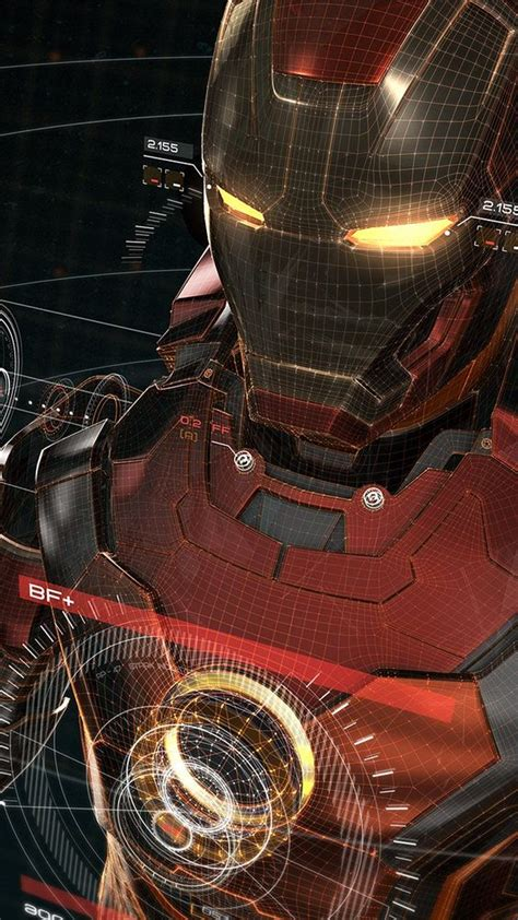 wallpaper 3d iron man iron man 3d wallpaper super heroes pinterest iron