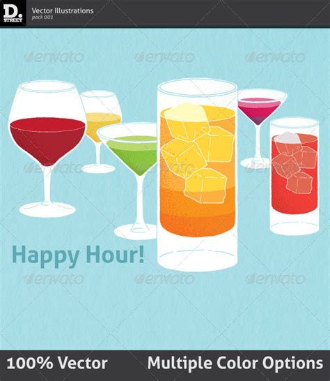 happy hour graphicriver