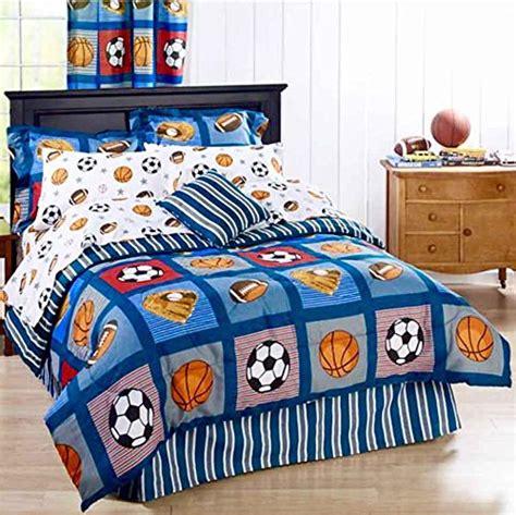 boys football bedding sets funky room in a bag bedding save time get sets funk