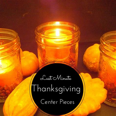 last minute thanksgiving center piece tutorial 12daysof thanksgiving