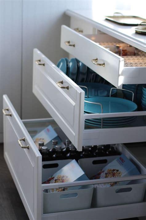 drawers  cupboards  organization  easy      jillian harris ikea