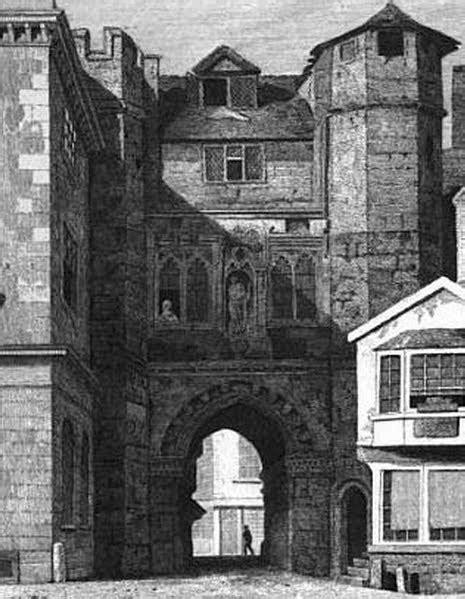 Demolition Exeter: The Broad Gate at Broadgate