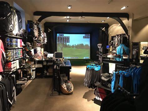 golf swing simulator new golf simulator for mb golf shop at donnington valley