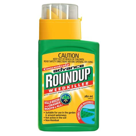 roundup gc liquid concentrate weedkiller 280ml roundup