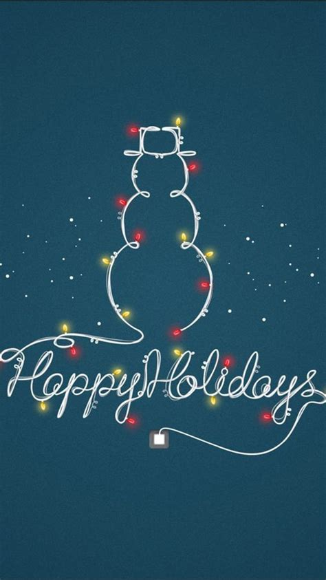 wallpaper for iphone 6 happy happy holidays light decoration snowman iphone 6 wallpaper