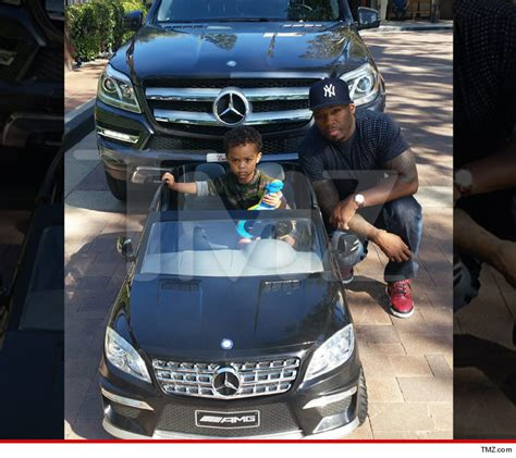 50 cent i bought my 2 year a mercedes tmz