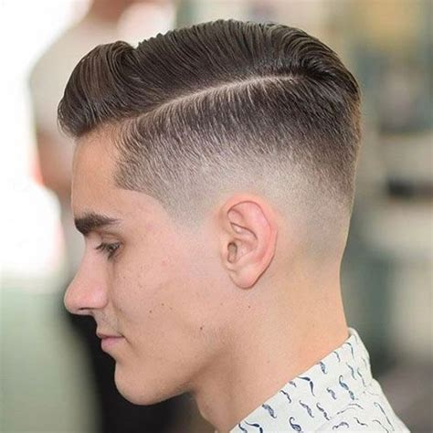 0 fade to combover comb over fade haircut 2017 low skin fade haircuts and