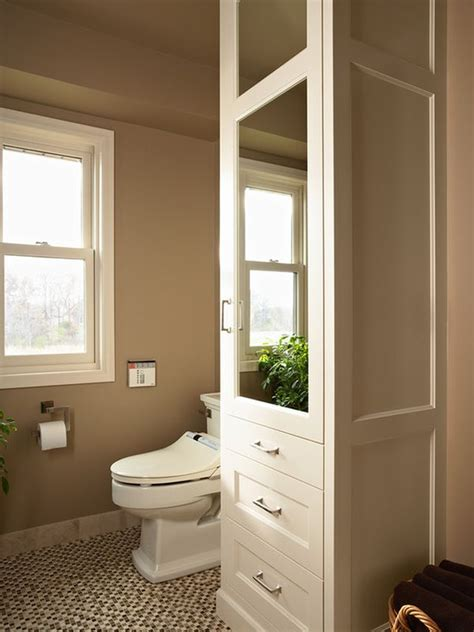 Bathroom Closet Design Five Great Bathroom Storage Solutions