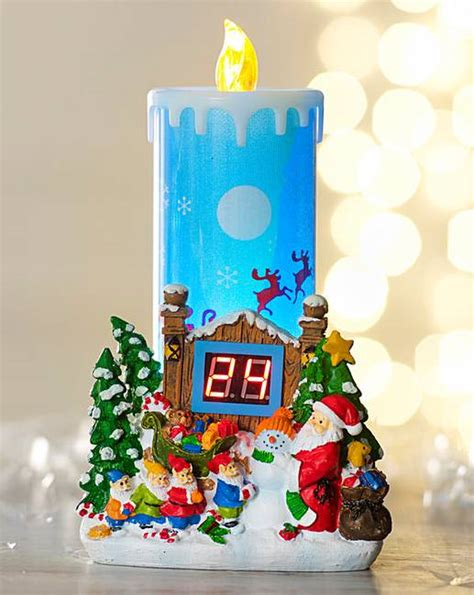 christmas countdown candle j d williams