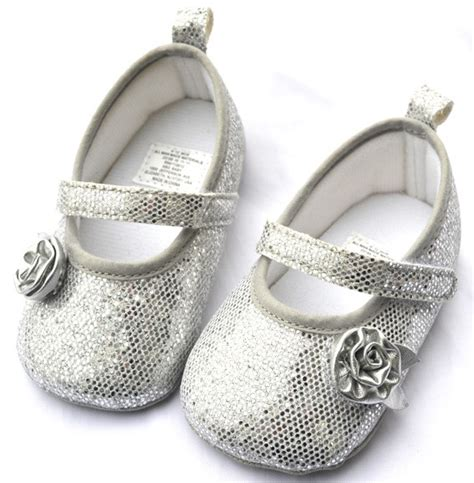 toddler silver shoes silver toddler baby shoes size 2 3 ebay