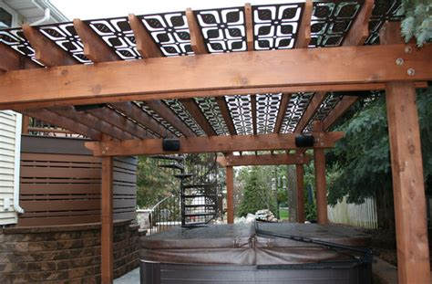 pergola privacy screen privacy panels and pergola screen transitional