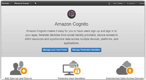 amazon cognito launch amazon cognito user pools general availability