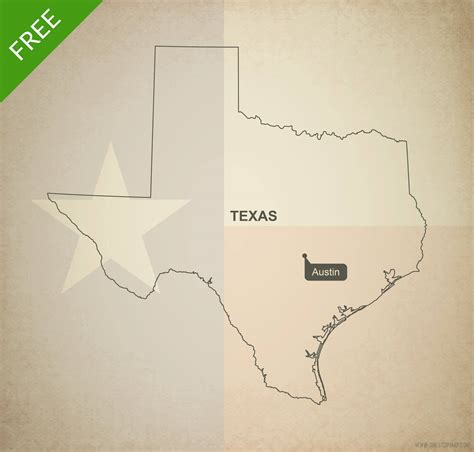 texas vector map free vector map of texas outline one stop map