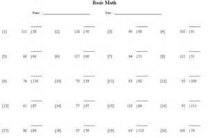 basic math division sample