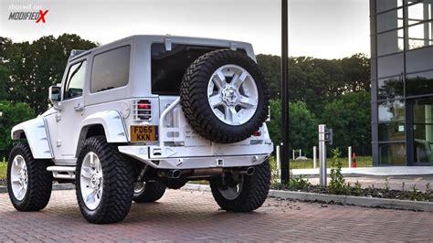 modded white jeep custom 2015 jeep wrangler rubicon storm 11 modifiedx