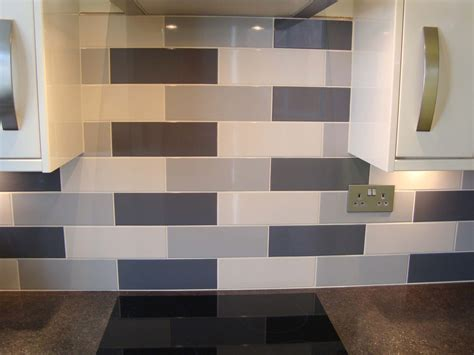 Small Dark Bathroom Ideas by Linear White Gloss Wall Tile Kitchen Tiles From Tile