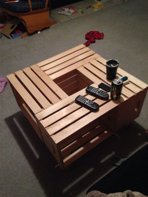Apple Crate Coffee Table by Apple Crate End Table And Coffee Tables Our Creations