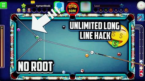 hack theme line android root no root 8 ball pool mega hack mod v 3 8 6 how to