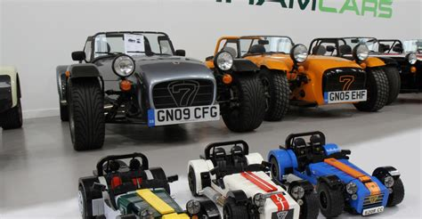 fancy building your own caterham lego has got your back