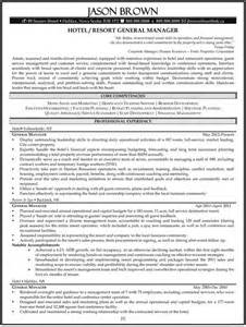 General Manager Resume Exle by Hospitality Resume Exles Resume Professional Writers