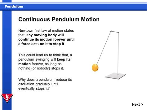 pendulum stops swinging in this presentation you will ppt video online download