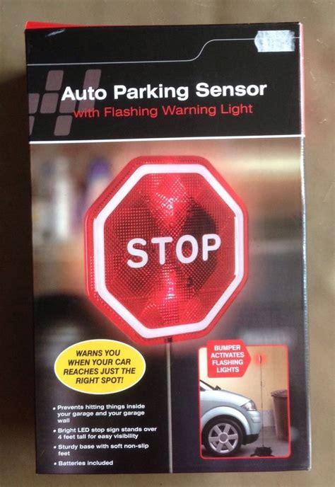 car auto parking sensor garage led warning