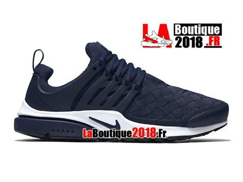 Nike Air Presto Woven Se Navy Sneakers Pria Sepatu Jalan Premium nike air presto se woven shoes midnight navy white