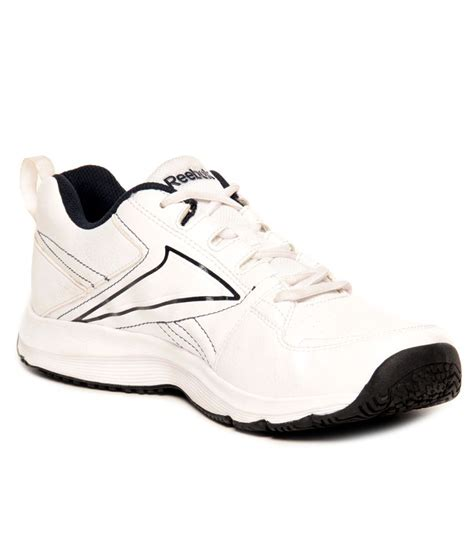 buy reebok white navy sports shoes for snapdeal