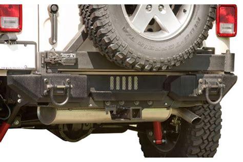 rugged ridge xhd rear bumper rugged ridge aluminum xhd rear bumper system free shipping