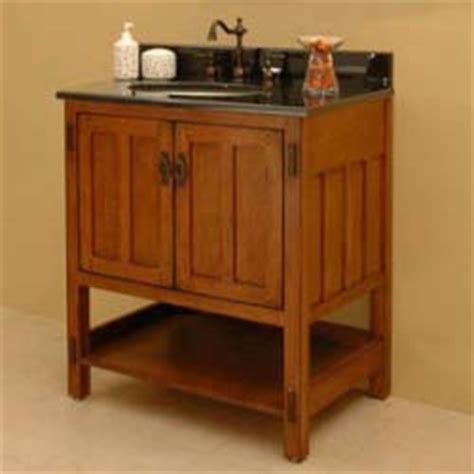 arts and crafts bathroom vanity 30 quot american craftsman vanity take it for granite old house web
