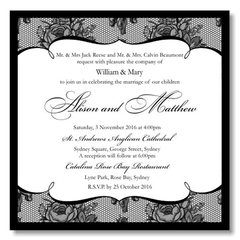 Wedding Invitation Paper Templates by Wedding Invitation Paper Template Best Template Collection