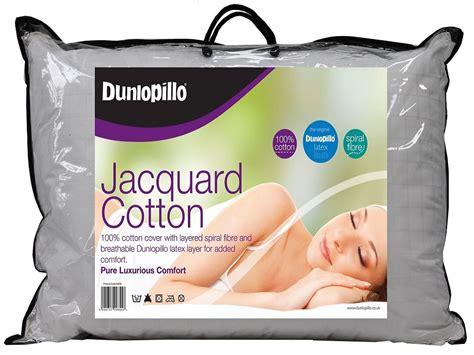 Dunlopillo Pillow Stockists by Dunlopillo Jacquard Cotton Pillow Crendon Beds