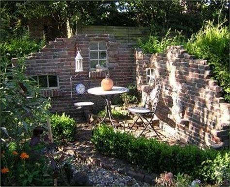 Klinker Mauern Im Garten by Alte Ziegelsteinmauern Im Garten Alte Mauern Im Garten New