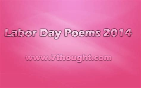 labor day poems  quotes quotesgram