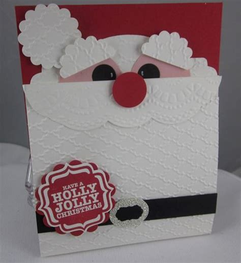 holly jolly giftcard holder 1 gift card diy pinterest