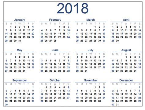 printable calendar quarterly 2018 free printable calendar 2018 with holidays