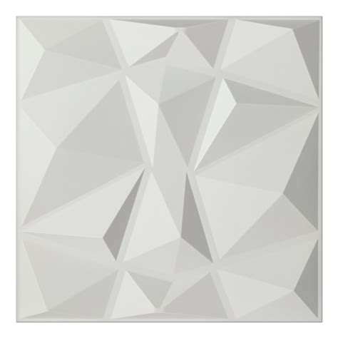 Peel And Stick Vinyl Tile Backsplash Textures 3d Wall Panels White Diamond Wall Design 12