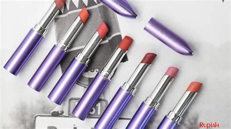 Lipstik Mirabella Colorfix Warna Pink dilengkapi kandungan licorize vitamin e lipstik