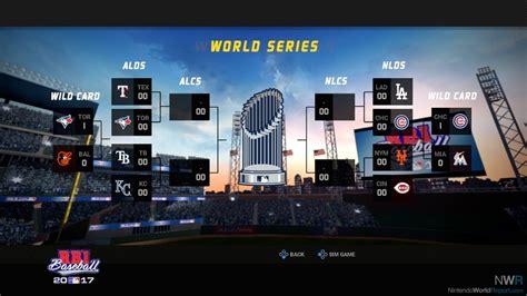 Switch R B I Baseball 2017 r b i baseball 2017 switch review nintendo world