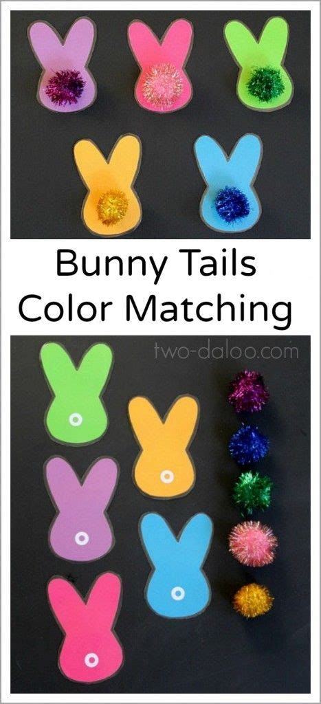 are bunnies color blind bunny tails color matching matching bunny
