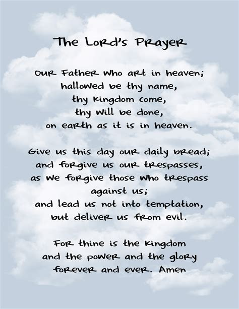 The Lord Prayer quot of quot by rosarymanjim the lord s prayer