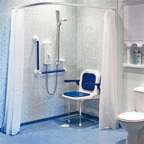 disabled bathrooms showers akw individual white shower curtains 24073 2135 x 2135mm